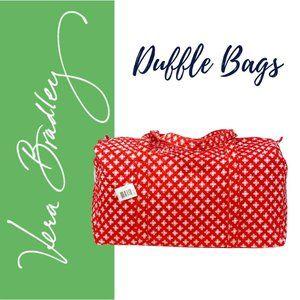Vera Bradley Mini Concerto Large Duffel Bag